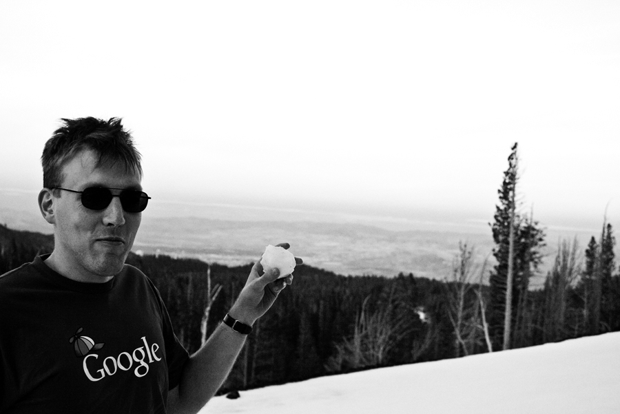 Aaron Tahoe 11-12-2011 VF 6 BW